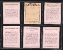 Tobacco Cigarette cards  Angling Information 1939